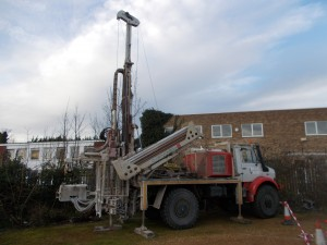 Rotary Rig Lorry